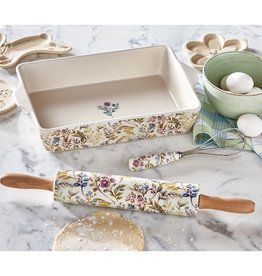 Tag Ceramic Rolling Pin, Meadow