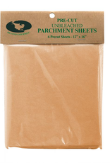 Harold Import Company Inc. Pre-Cut Unbleached Parchment Sheets, fits half sheet