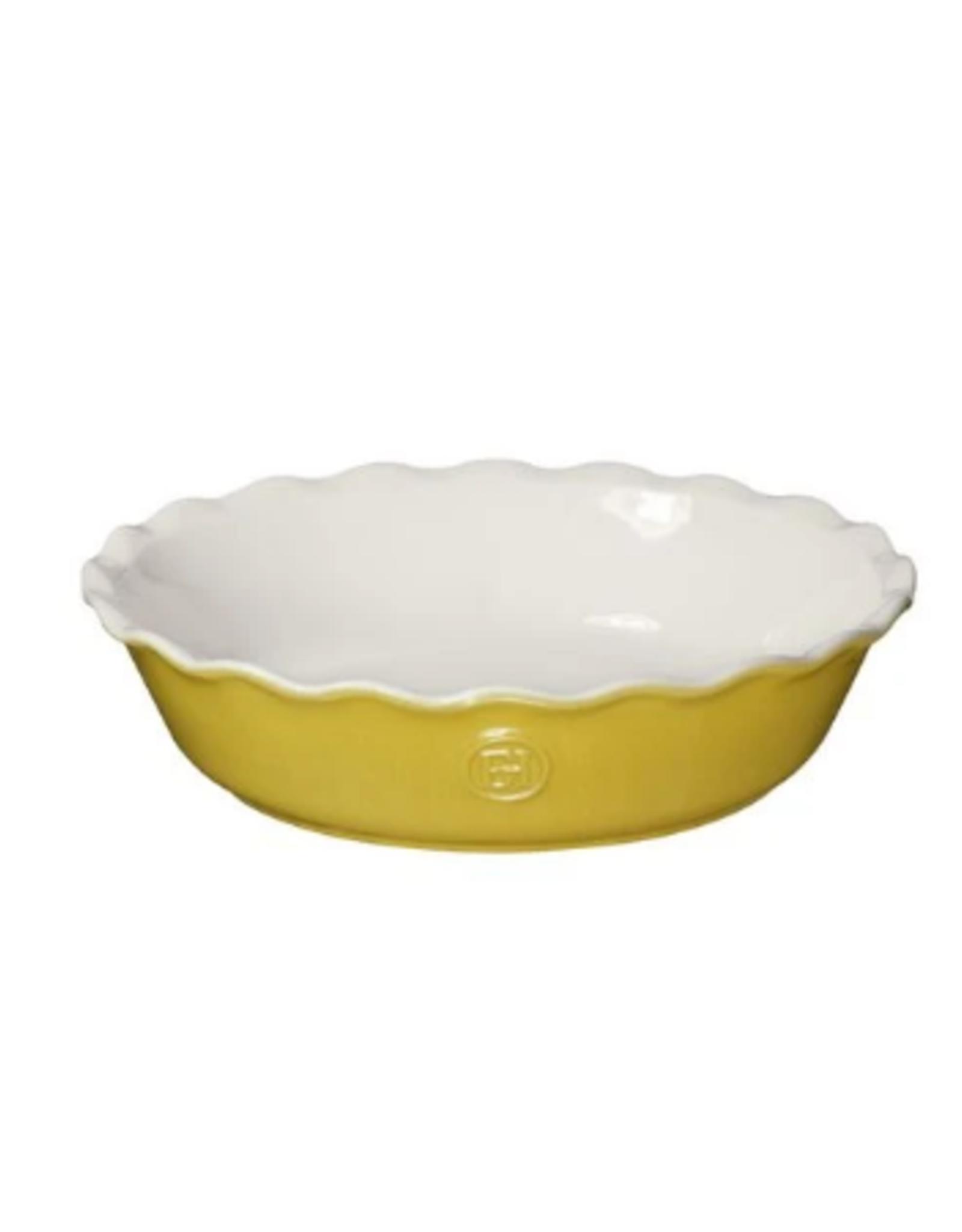 "Emile Henry Emile Henry Pie Dish, 9"", leaves"