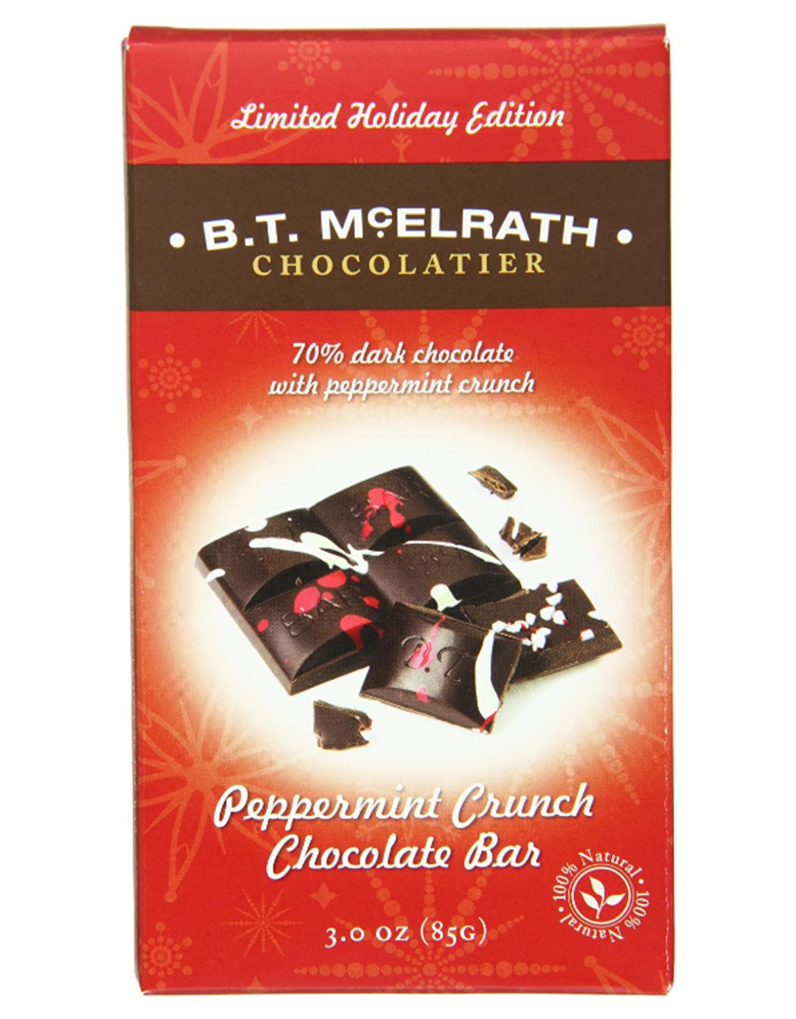 BT McElrath Peppermint Choc Bar, 3 oz