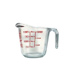 Harold Import Company Inc. Liquid Measuring Cup, 1c, Glass