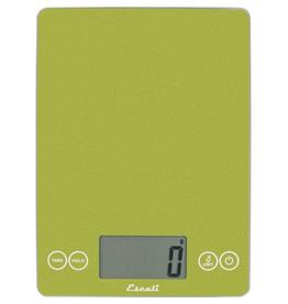 Escali Arti Glass Digital Scale, Succulent green