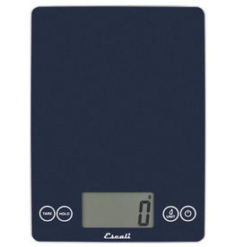 Escali Arti Glass Digital Scale, blue