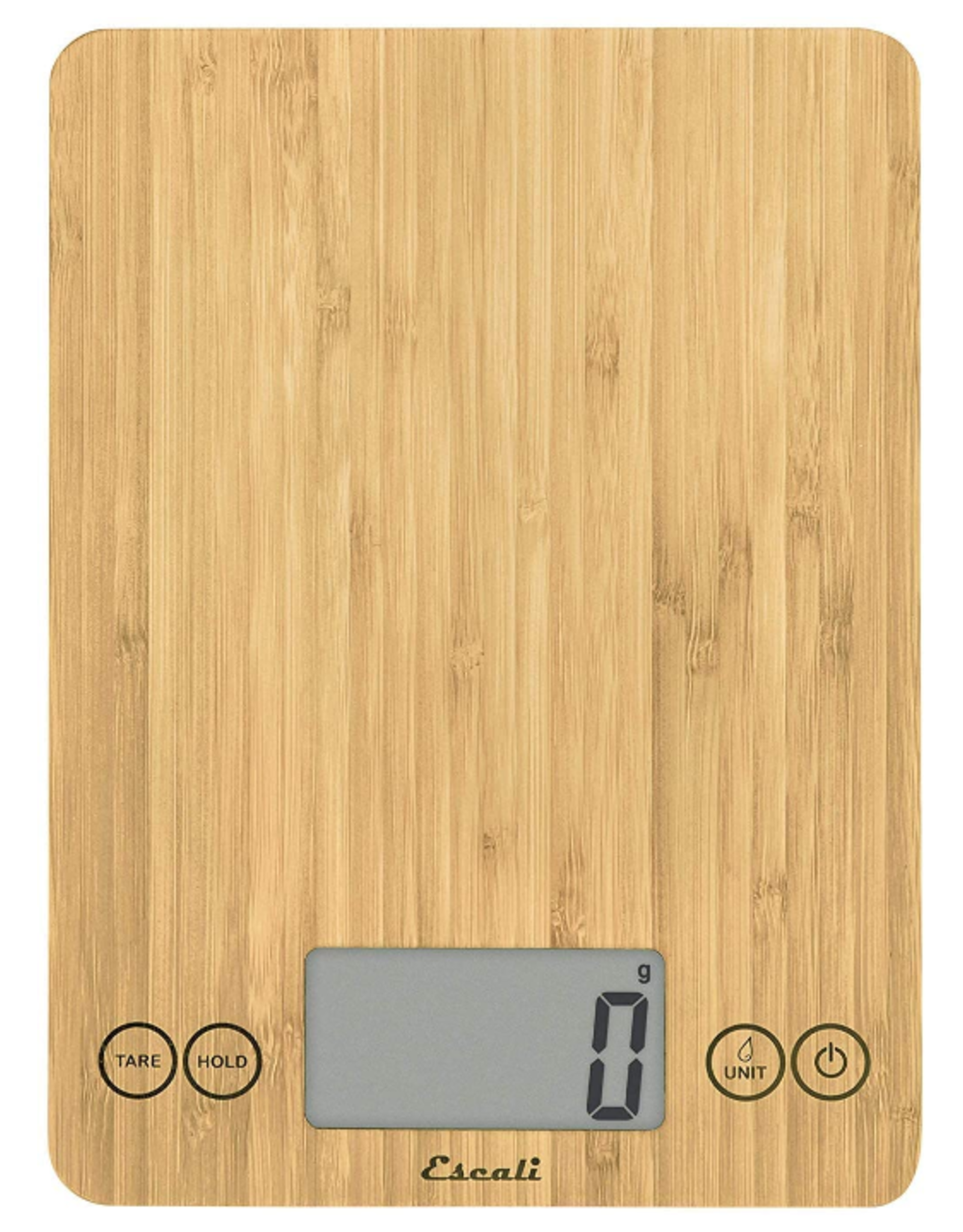 Escali Arti Digital Scale, eco bamboo