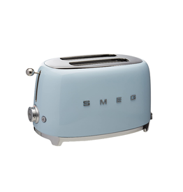 Smeg 2 Slice Toaster, Pastel Blue