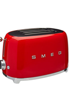 Smeg 2 Slice Toaster, Red