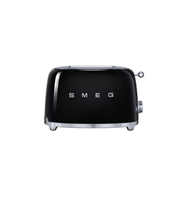 Smeg 2 Slice Toaster, Black