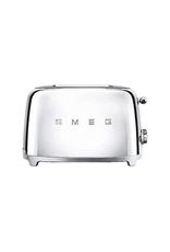Smeg 2 Slice Toaster, Chrome