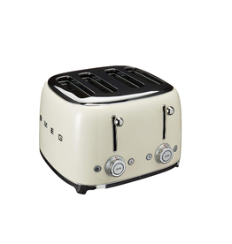 Smeg 4 Slot Toaster, Cream