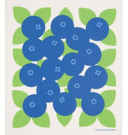 Cose Nuove Swedish Dishcloth, Blueberries