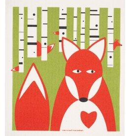 Cose Nuove Swedish Dishcloth, Fox