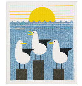 Cose Nuove Swedish Dishcloth, Seagull