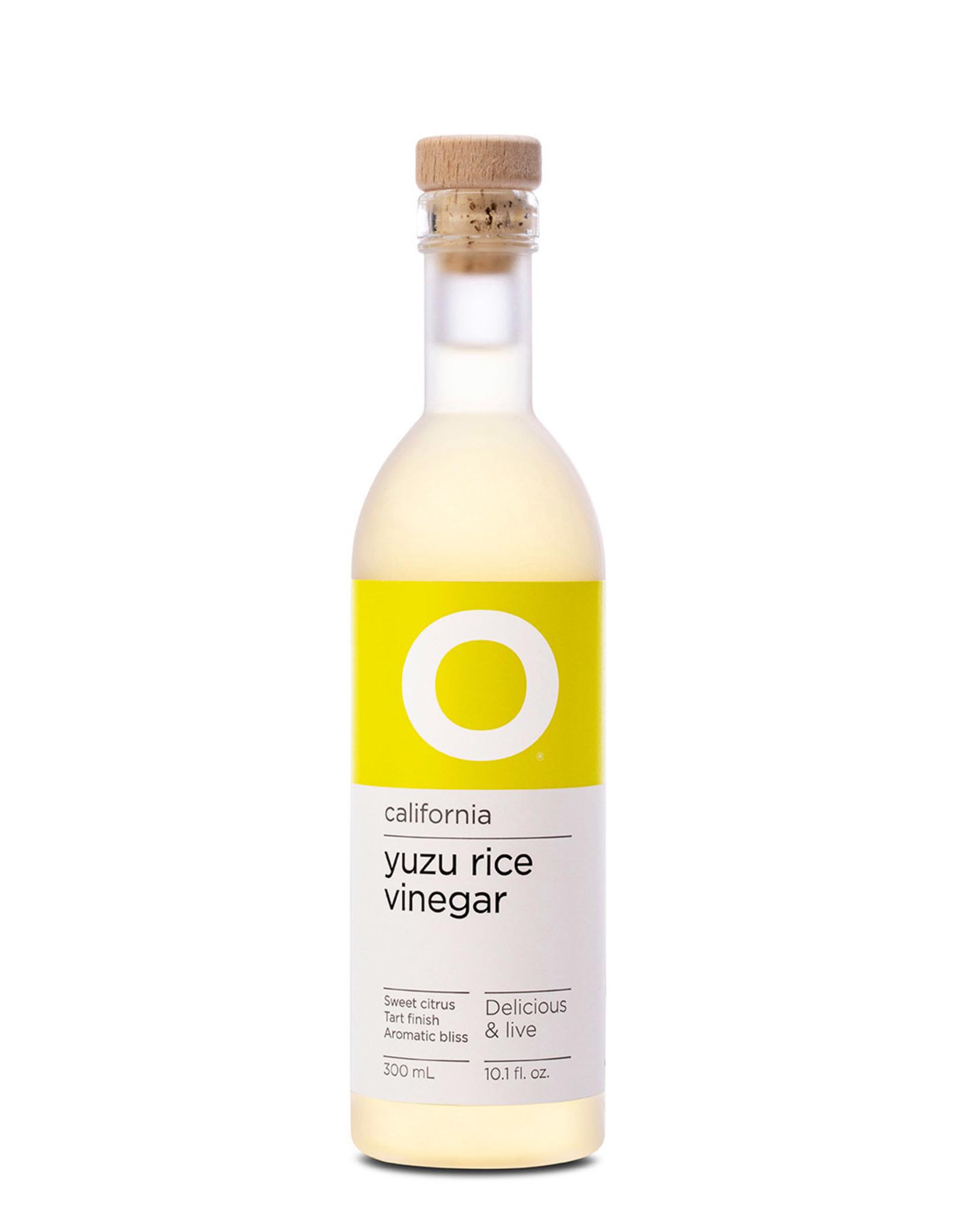 O Olive Oil O Yuzu Rice Vinegar