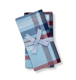 Tag S20 Napkin S/4 Blue Jackson Plaid
