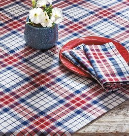 Tag S20 Tablecloth, Arlo Red/Blue Plaid