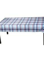 Tag S20 Tablecloth, Blue Jackson Plaid