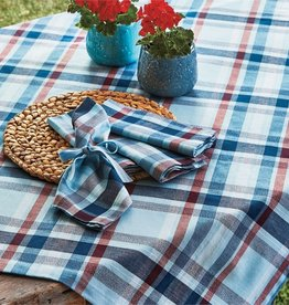 Tag S20 Tablecloth, Blue Jackson Plaid