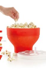Lekue Popcorn Maker, Red/Orange