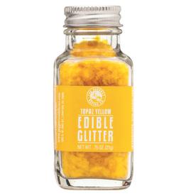 Pepper Creek Farms Topaz Yellow Edible Glitter