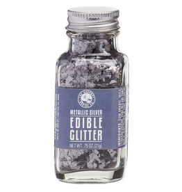 Pepper Creek Farms Metallic Silver Edible Glitter