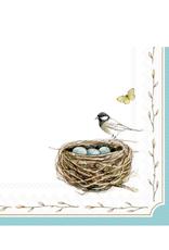 Boston International S20 Luncheon Napkin, Easter Nest