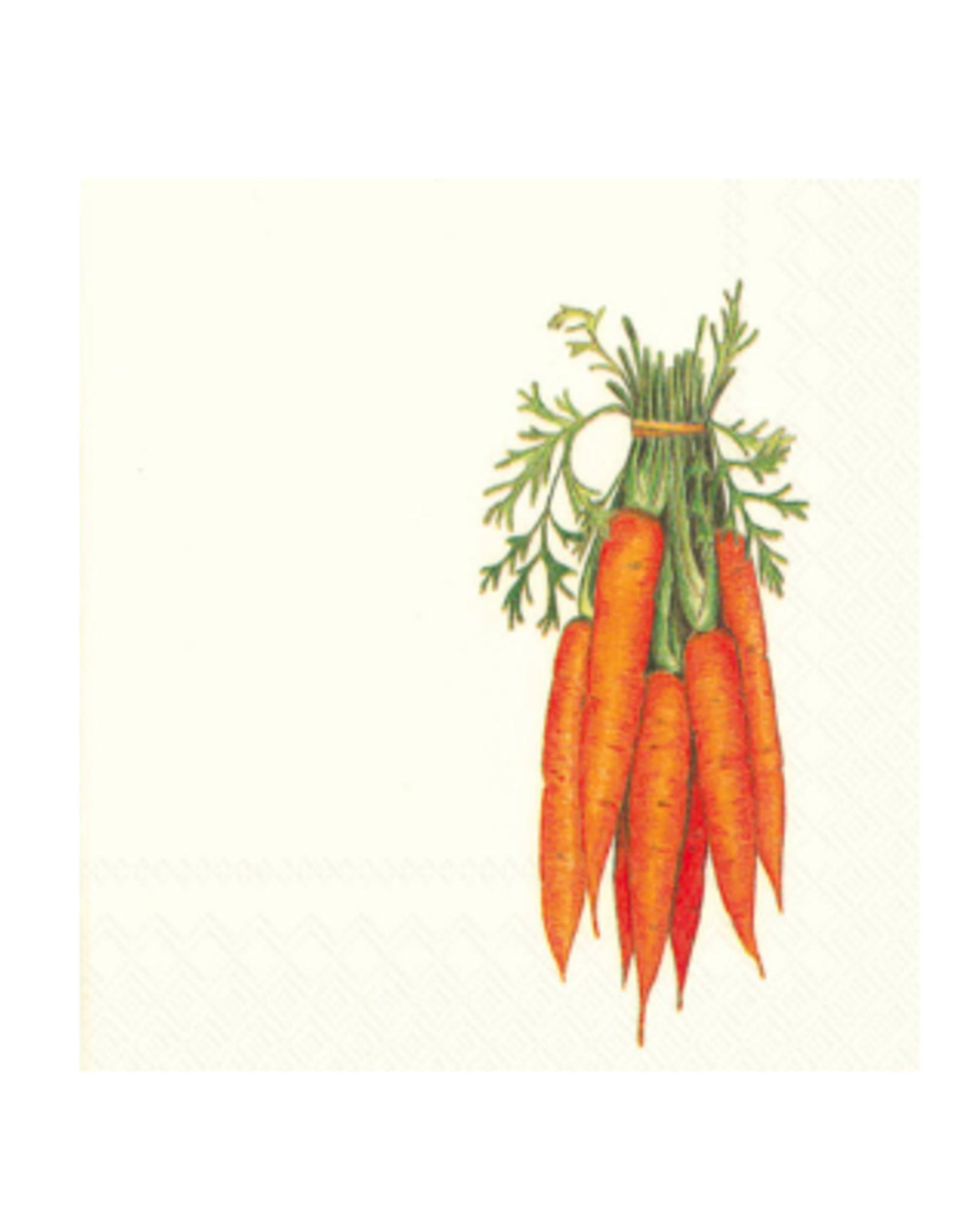 Boston International S20 Cocktail Napkin, Carrots