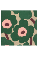 Boston International FALL19 Luncheon Napkin, Unikko Green Rose