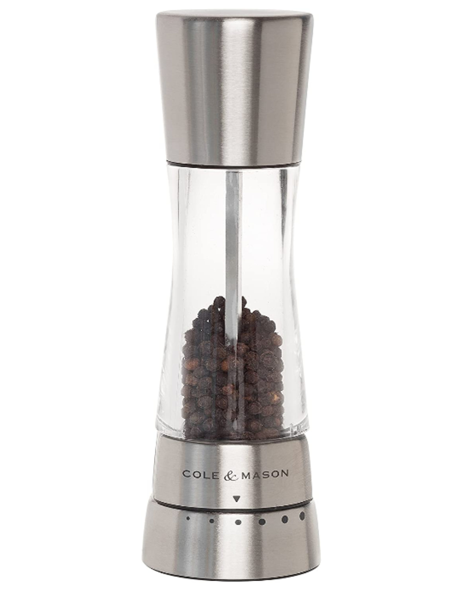 Cole & Mason Derwent Pepper Mill, SS - Carbon Steel Mechanism