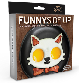 Fred & Friends Funny Side Up Egg Mold, Cat