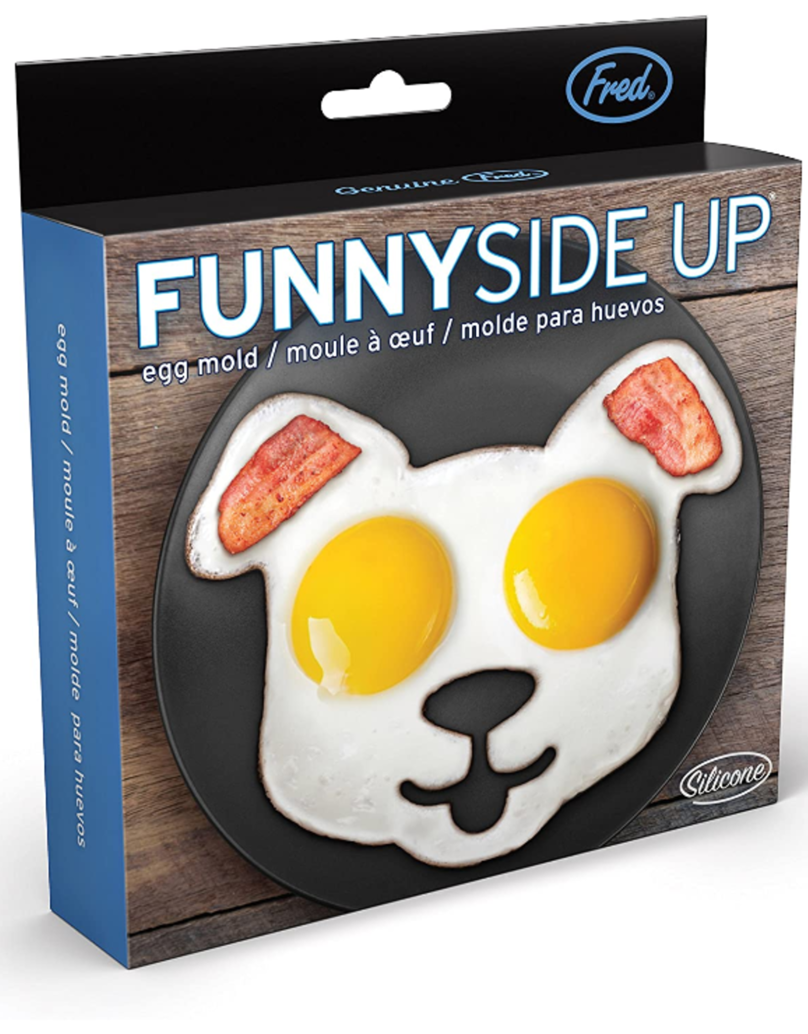 Fred & Friends Funny Side Up Egg Mold, Dog