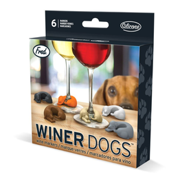 Fred & Friends Wine Markers, Dogs