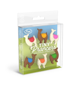 Fred & Friends Wine Markers, Tiny Prancers, Llama