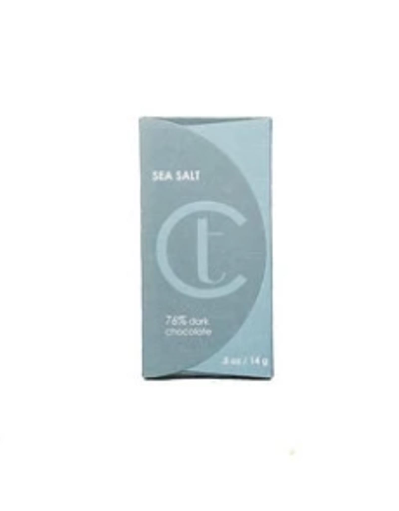 Terroir Chocolate Dark Chocolate 76% w/ Sea Salt Mini