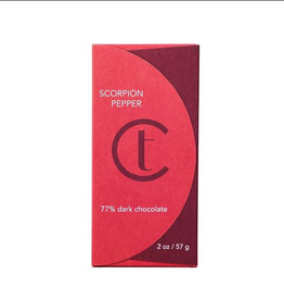 Terroir Chocolate Dark Chocolate 77% Scorpion Pepper