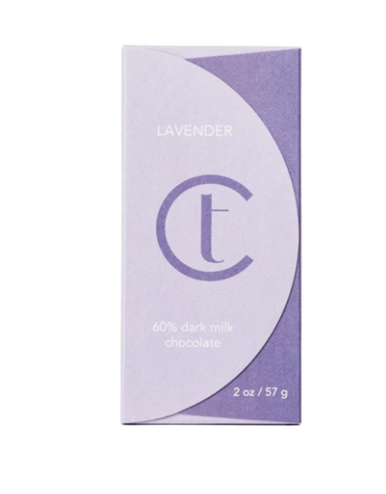 Terroir Chocolate Dark Milk Chocolate 60% Lavender