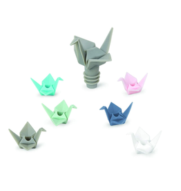 Umbra Wine Charms & Topper, Origami