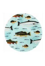 Andrea's Silicone Trivets Jar Opener, Eat Sleep Fish