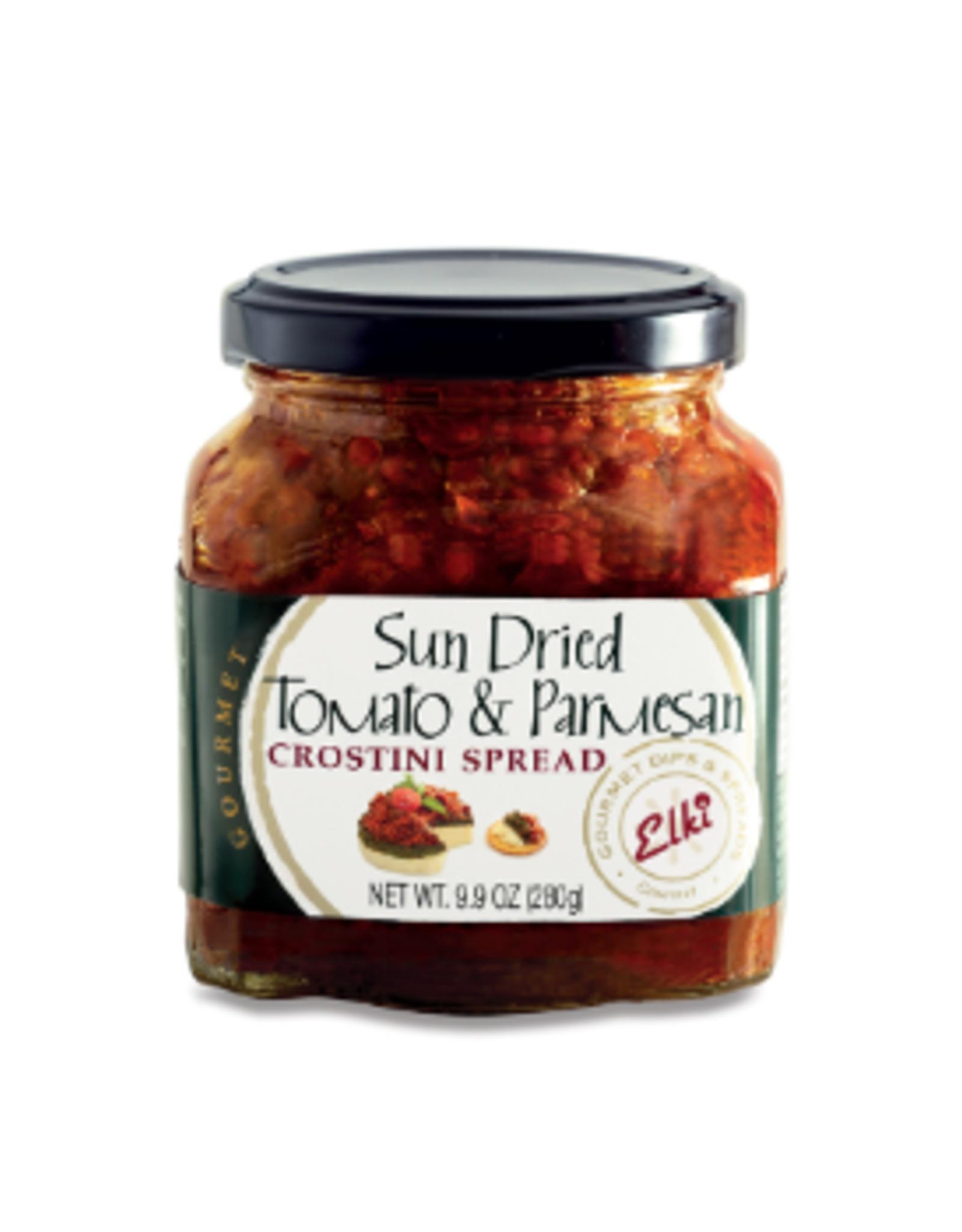 Elki Elki Sundried Tomato & Parmesan Crostini Spread