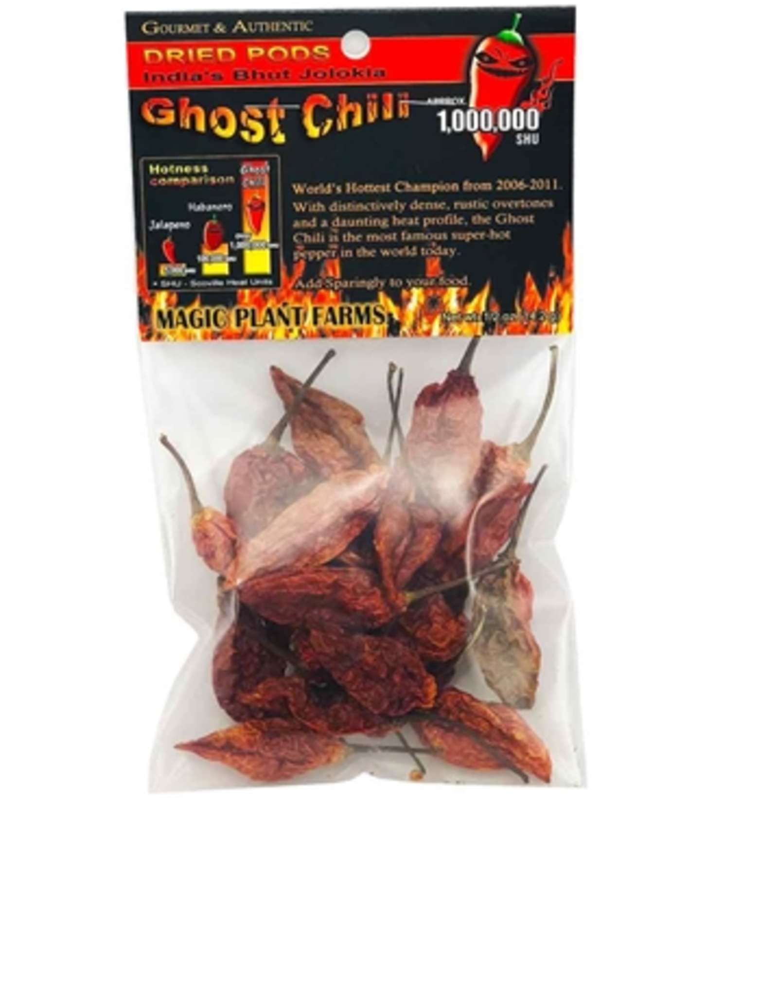 Hot Shots Distributing Dried Ghost Chilies