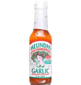 Hot Shots Distributing Melinda's Garlic Habanero Hot Sauce, 5 oz.