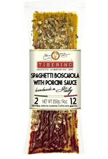 LVB Imports Tiberino, Spaghetti w/Porcini and Tomato Sauce