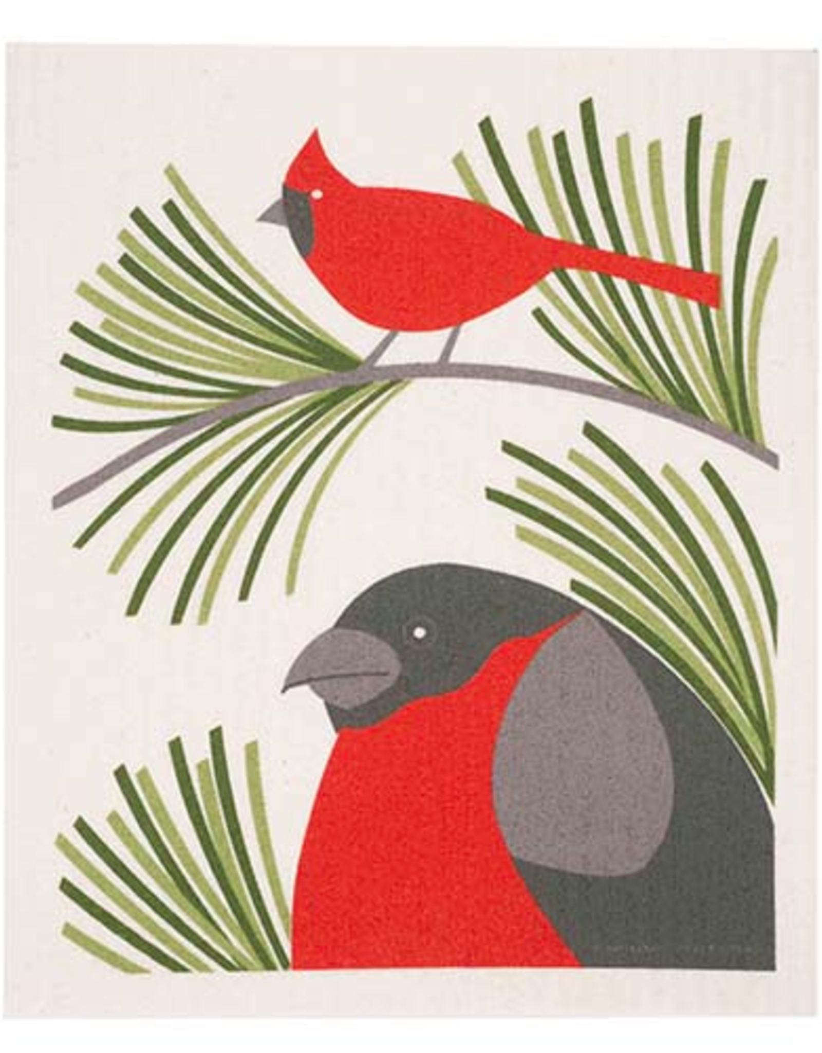 Cose Nuove Swedish Dishcloth, Cardinal, All Year