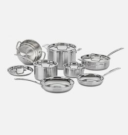 Cuisinart 12-Piece Set, Multi-Clad Pro