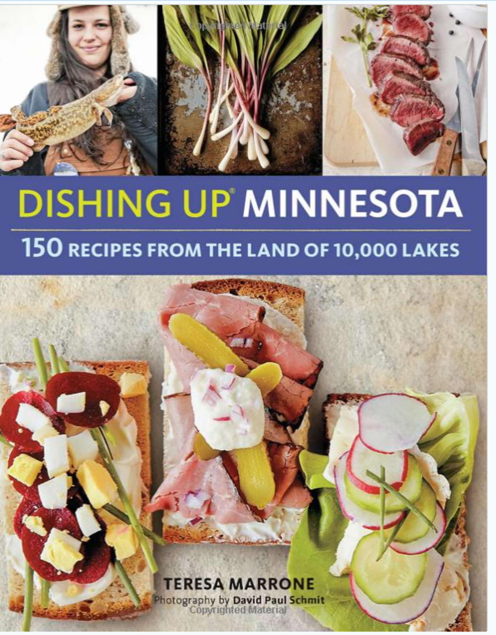 Workman Publishing Dishing Up Minnesota