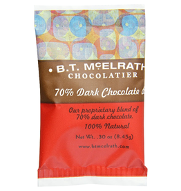 BT McElrath 70% Dark Choc .3 oz Bite Size