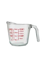 Harold Import Company Inc. Liquid Measuring Cup, 2c, Glass