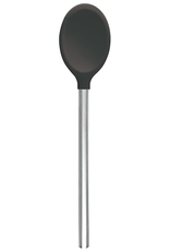 """Tovolo 12"""" SS Silicone Spoon, Charcoal"""