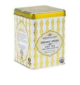 Harney & Sons Organic Green w/Citrus Iced Tea, Tin