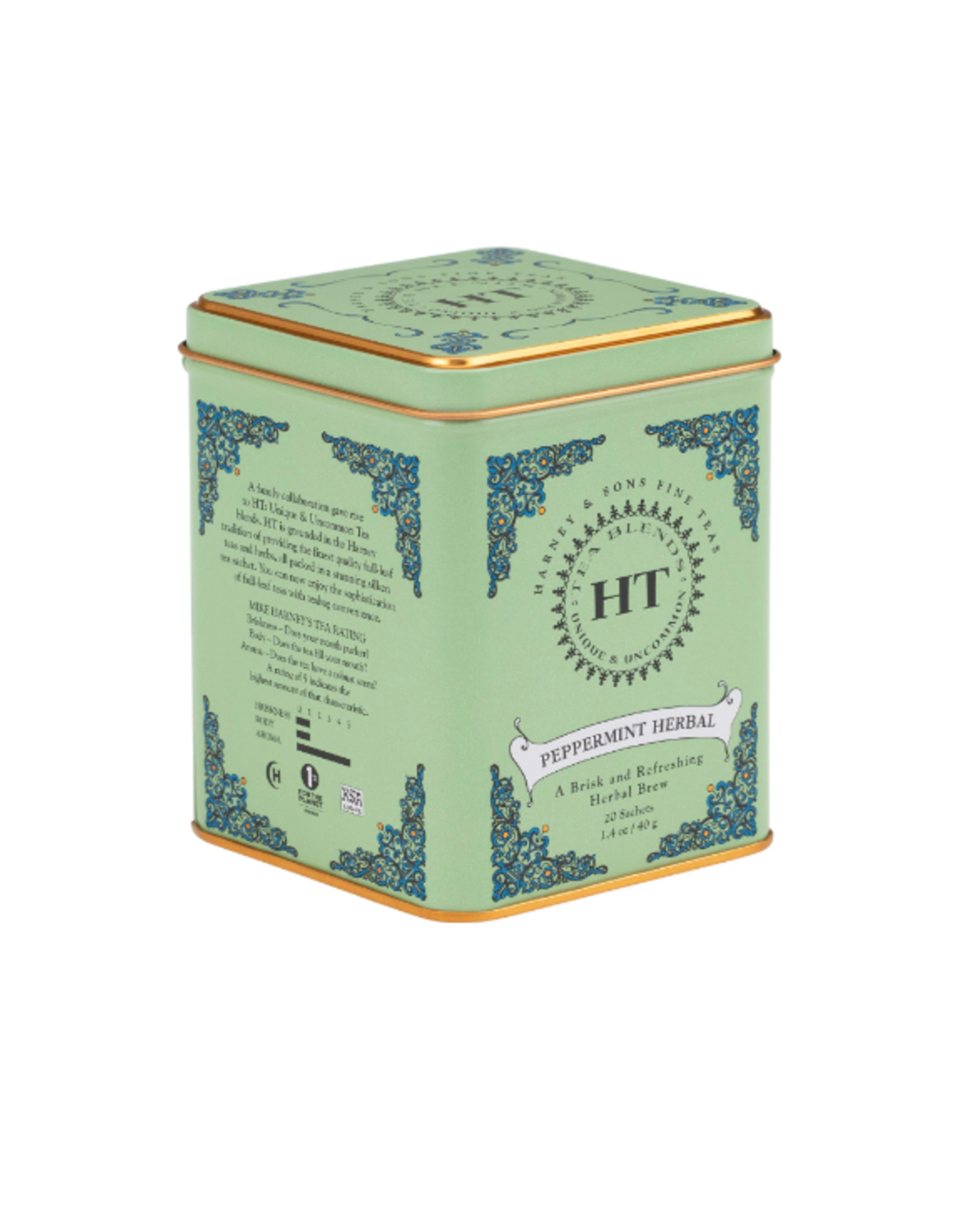 Harney & Sons Peppermint Herbal Tea, Tin