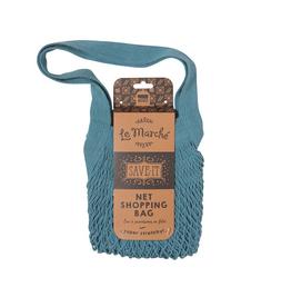 Now Designs S20 Shopping Bag, Le Marche Blue